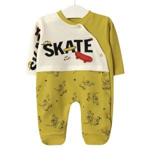 Человечек детский Скейтборд, желтый Twetoon