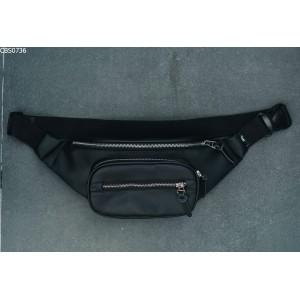 Поясная сумка Staff che leather black