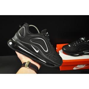 кроссовки Nike Air Max 720 арт 20685 (черные, найк)