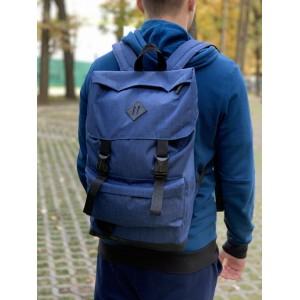 Рюкзак Мужской синий, Рюкзак для ноутбука