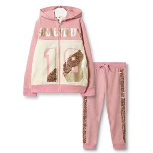 Костюм для девочки 3 в 1 Beautiful, светло-розовый Baby Rose
