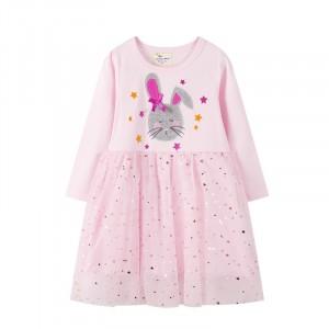 Плаття для дівчинки Gray hare Jumping Meters