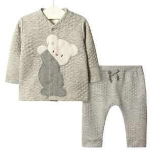 Комплект детский 3 в 1 Тедди, серый Flexi