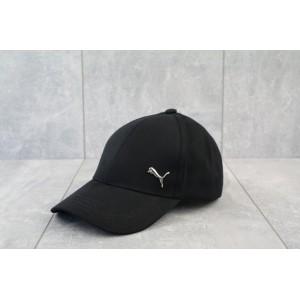 Кепка бейсболка Puma (черный) металический логотип