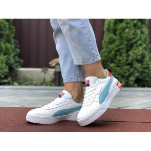 Женские кроссовки Puma Cali Bold,белые с мятным