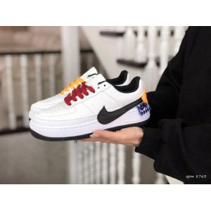 Подростковые кроссовки Nike Air Force 1 Jester XX,белые с черным