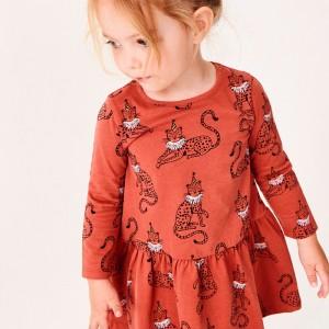 Платье для девочки Circus leopard Jumping Meters