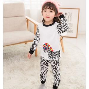 Пижама для девочки Zebra Baobaby