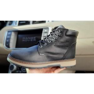 Зимние ботинки на меху Wrangler New Trendf, черные (31091) размеры в наличии ► [ 40 41 42 43 ]