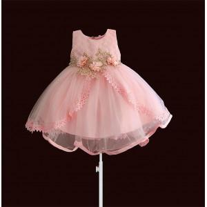 Платье для девочки Розовая жемчужина Zoe Flower