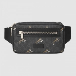Gucci Bestiary belt bag with Tigers GG Supreme tigers