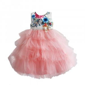 Платье для девочки Цветочные бутоны, розовый Zoe Flower