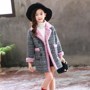 Пальто для девочки демисезонное Зефирка Berni