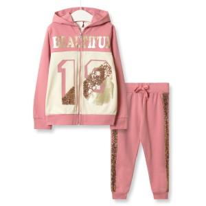 Костюм для девочки 3 в 1 Beautiful, розовый Baby Rose