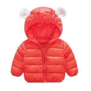 Куртка детская Ушки, красный Berni