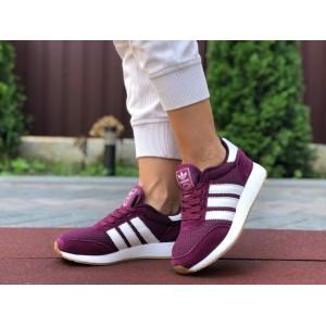 Женские кроссовки Adidas Iniki,фуксия (малиновые)