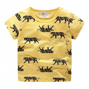 Детская футболка Тигры Jumping Meters