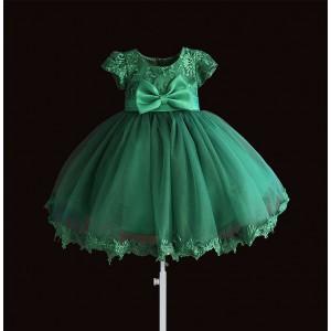 Платье для девочки Зеленый бант Zoe Flower
