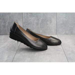 Туфли EQ 109 -3A (лето, женские, искусственная кожа, черный)