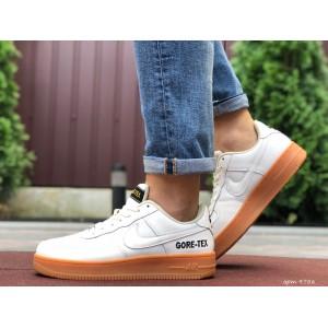 Активные мужские кроссовки Nike Air Force Gore-Tex,белые