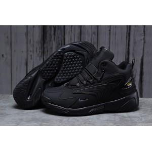 Зимние мужские кроссовки 31641, Nike Zm Air, черные, < 41 42 43 44 45 46 > р. 46-29,3см.