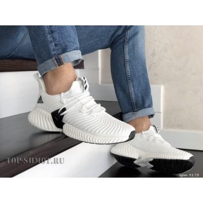 Мужские кроссовки Adidas,текстиль,белые
