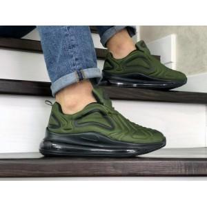 Мужские кроссовки Nike air max 720,темно зеленые