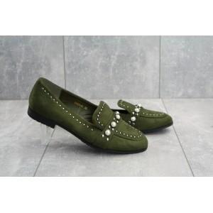 Туфли EN 20 -6E Horoso (весна/осень, женские, искусственная замша, хаки)