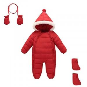 Комбинезон зимний детский 3 в 1 New Year, красный Berni