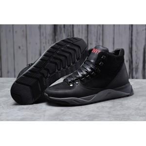 Зимние мужские ботинки 31622, Levi's (мех), черные [ 41 ] р.(41-27,0см)