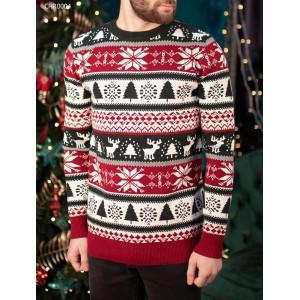 Вязаный свитер Staff winter