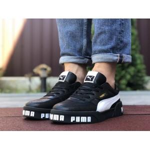 Мужские кроссовки Puma Cali Bold,черные с белым