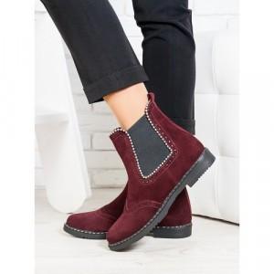 Ботинки женские натуральная зашма