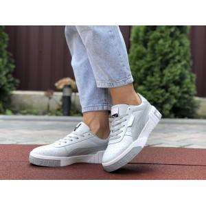 Женские кроссовки Puma Cali Bold,серые с белым
