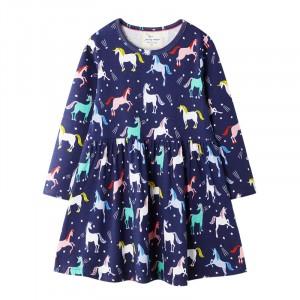 Платье для девочки Радужные единороги Jumping Meters