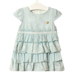 Платье для девочки Золушка, голубой Flexi