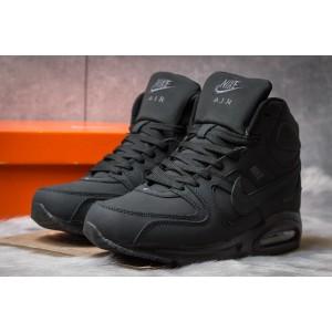 Зимние ботинки на мехуNike Air Max, черные (30472) размеры в наличии ► [ 44 (последняя пара) ]