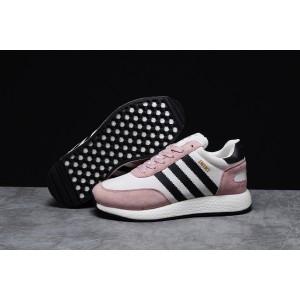 Зимние женские кроссовки 31651, Adidas Iniki, розовые, < 36 37 38 39 40 41 > р. 40-24,8см.