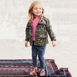 Джинсы для девочки Little Maven