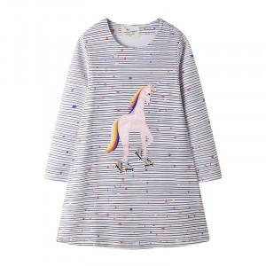 Платье для девочки Единорог и звёзды Jumping Meters