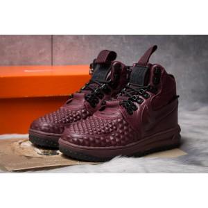 Зимние женские кроссовки 30926, Nike LF1 Duckboot, бордовые [ 36 ] р.(36-23,0см)