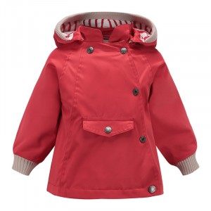 Куртка детская демисезонная Monochromatic, красный Meanbear