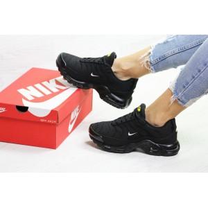 Подростковые зимние кроссовки Nike air max TN,черные