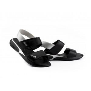 Женские босоножки кожаные летние черные Best Vak Air Л64-01 ч