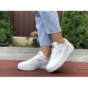 Женские кроссовки Puma Cali ,белые