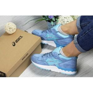 Женские,подростковые кроссовки Asics Gel-Lyte V, голубые 38р