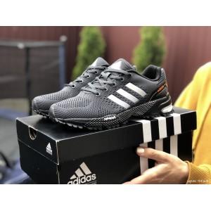 Подростковые (женские) летние кроссовки Adidas Marathon,серые