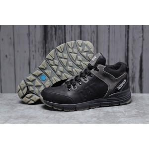 Зимние мужские кроссовки 31572, CAT Caterpilar Expensive (мех), черные [ 40 ] р.(40-26,0см)