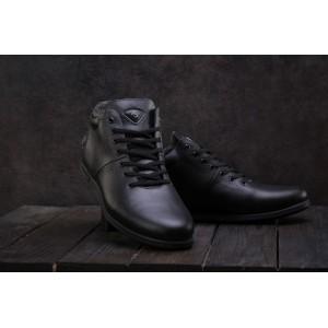 Ботинки Milord Olimp (зима, мужские, натуральная кожа, черный)