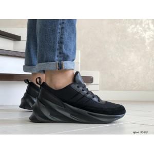Мужские модные кроссовки Adidas Sharks,черные
